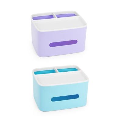 創意桌面收納紙巾盒