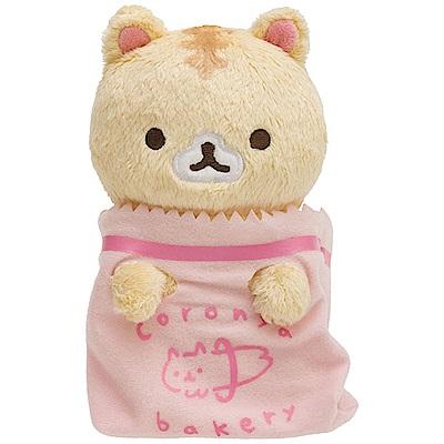 捲心奶油貓幻想冰淇淋系列毛絨公仔。紙袋奶油貓 San-X