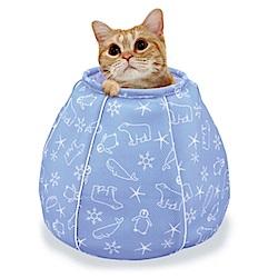 Marukan 貓咪避暑涼感床 水桶造型 CT-405