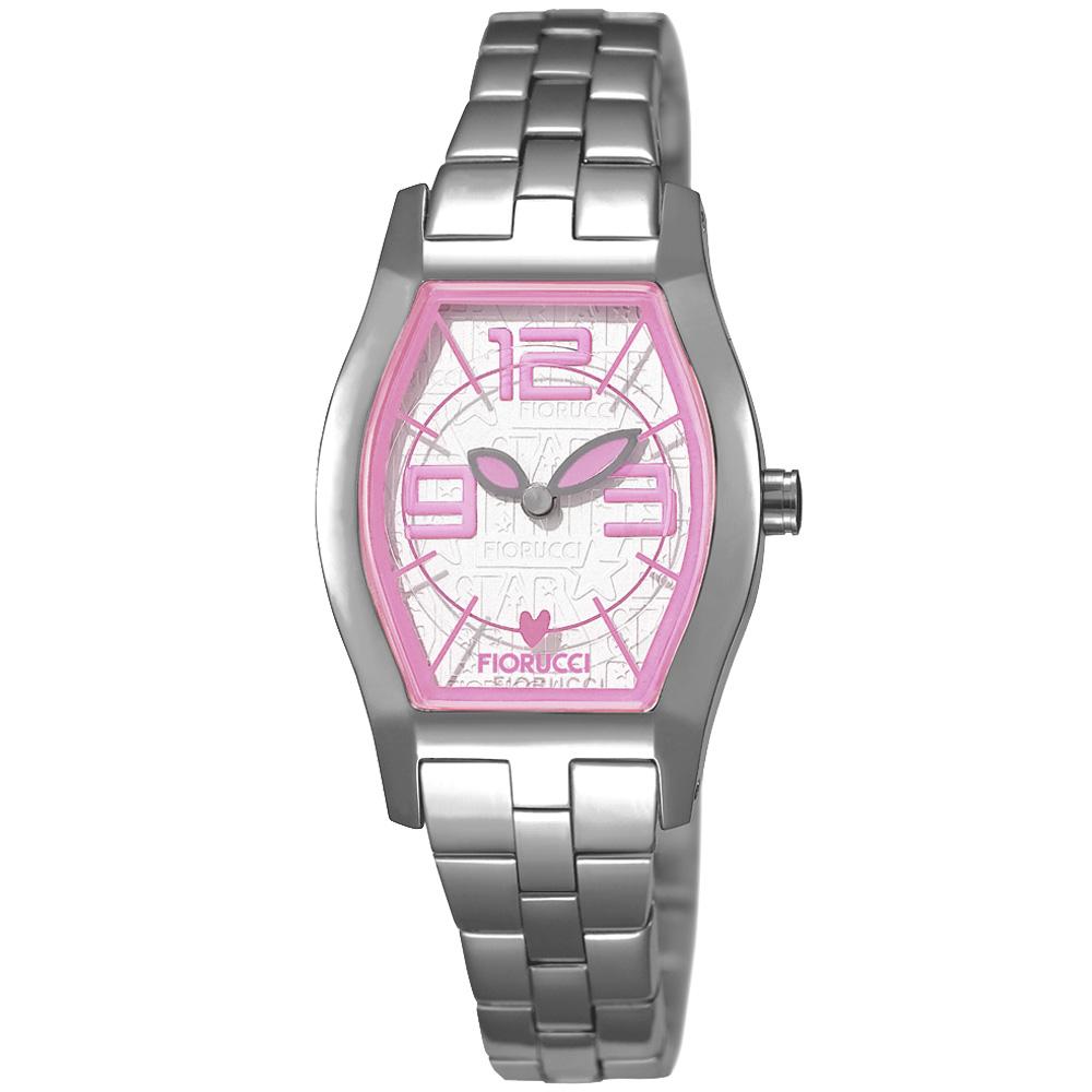 FIORUCCI 新維多利亞時尚腕錶(粉紅/23mm)