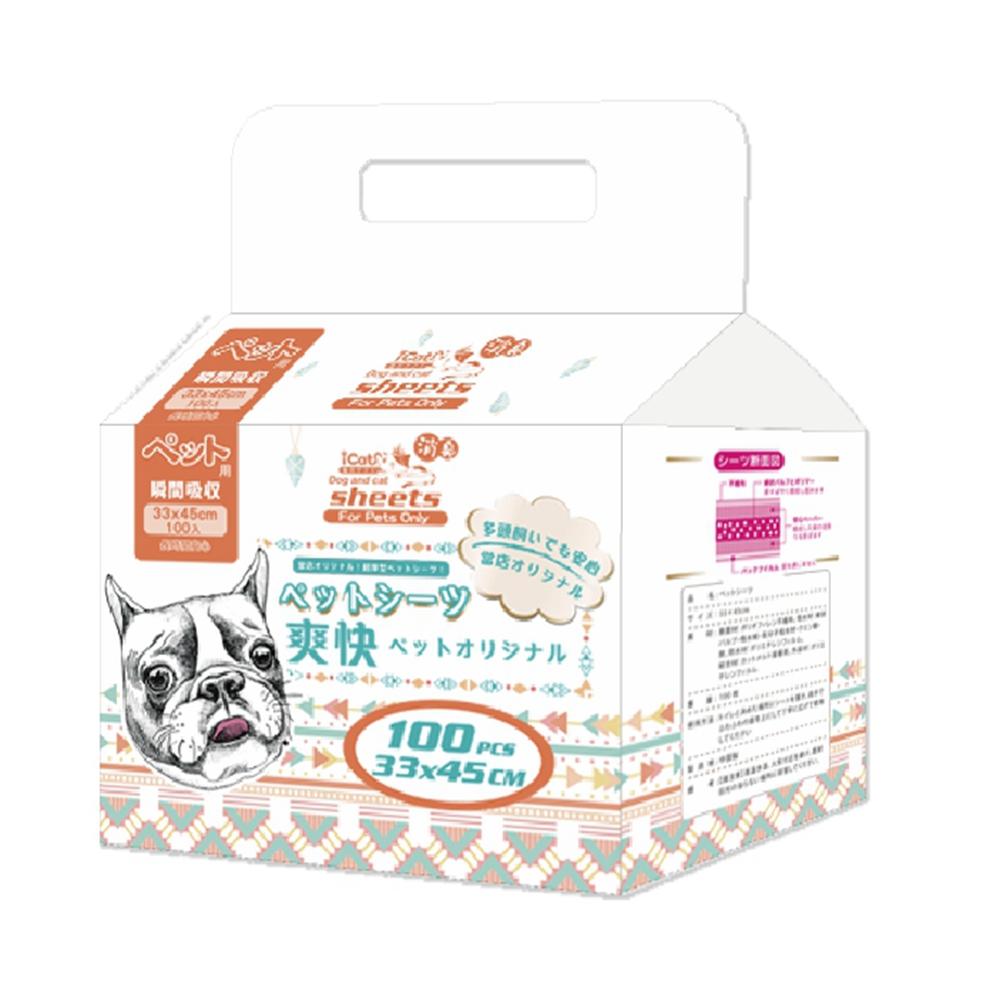 寵喵樂 爽快寵物用PLUS加厚尿布 升級版(4包組)