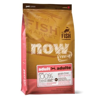 Now! 鮮魚無穀天然糧 成犬配方12磅(6磅x2包替代)