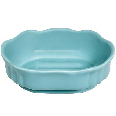 EXCELSA Spa陶製花苞肥皂盒(綠)