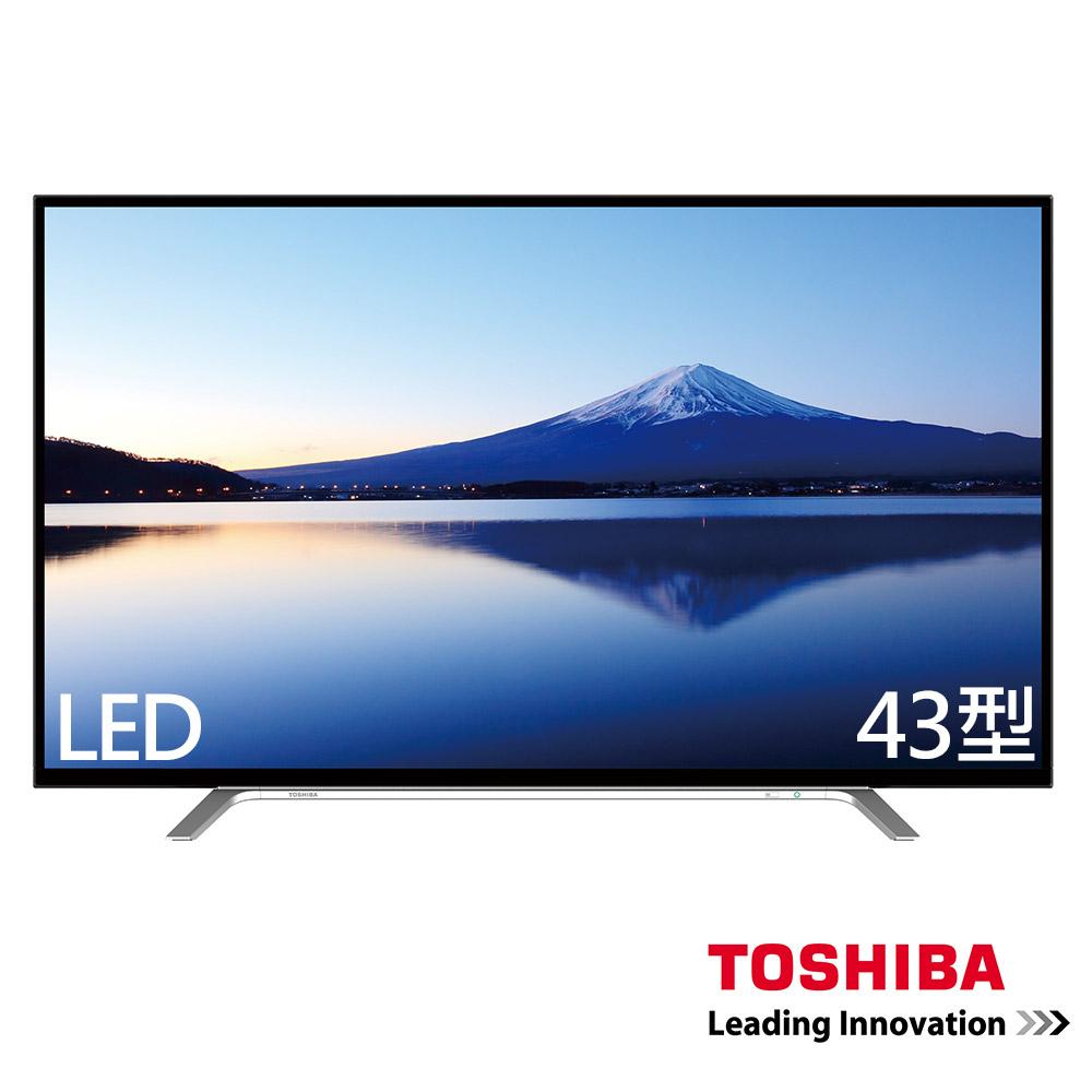 TOSHIBA東芝 43吋 液晶顯示器+視訊盒 43L2686T