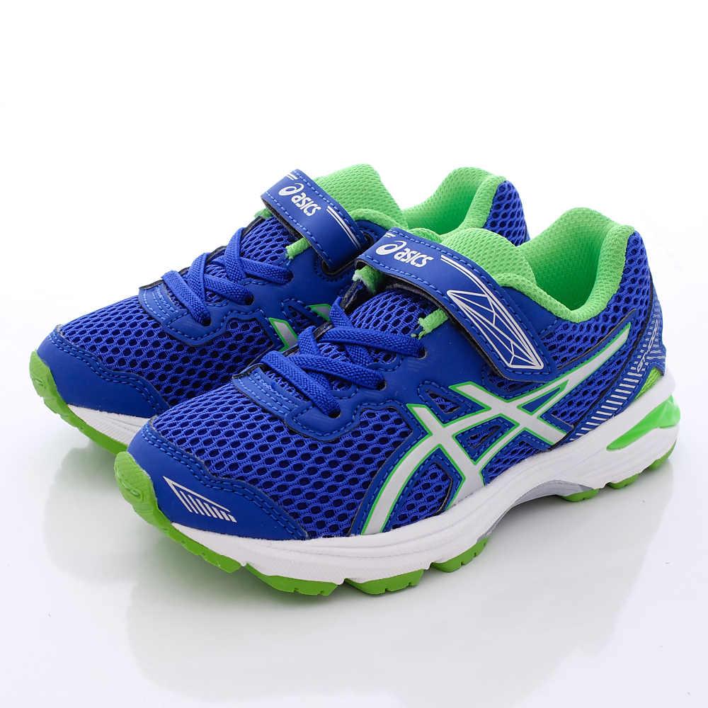 asics競速童鞋 高支撐透氣運動-SI20N-4501藍(中小童段)