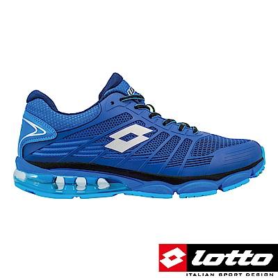 LOTTO 義大利 男 PHOENIX KPU 氣墊跑鞋 (藍)
