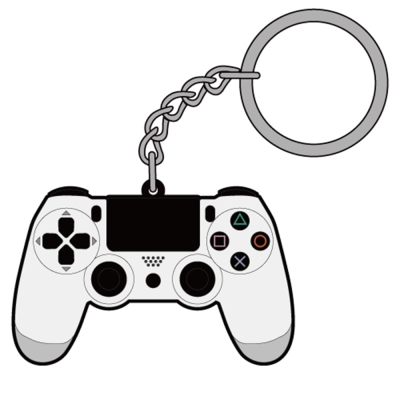 DUALSHOCK 4造型鑰匙圈