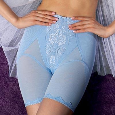 曼黛瑪璉-魔女中機能束褲(天使藍)