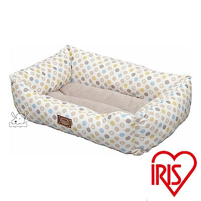 IRIS 圓點掌印 涼感沙發寵物床 S號(PCSB-18S)