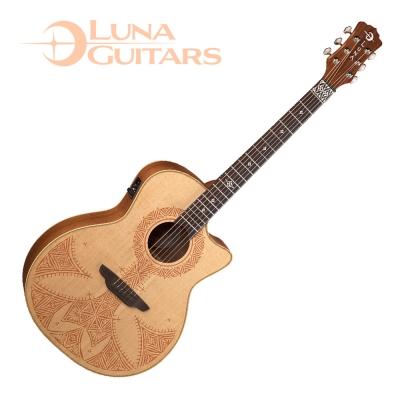 LUNA Henna 系列 撒哈拉 SAHARA 電民謠木吉他