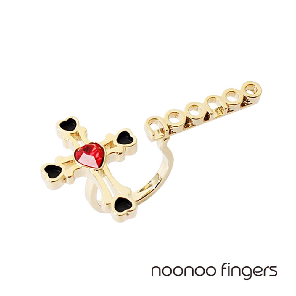 Noonoo Fingers Queen Cross Ring皇后十字架Noonoo戒指