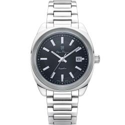 奧柏表 Olym Pianus 聚焦時尚石英腕錶-黑   5706MS