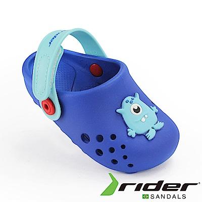 RIDER 巴西-幼童 布希鞋 LUNAR 寶藍