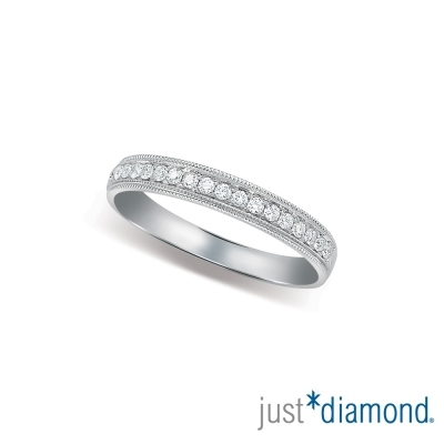 Just Diamond Eternity系列對戒 I am Yours-女戒