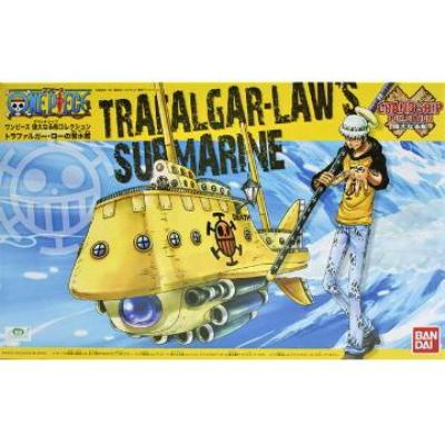 【BANDAI】代理版 航海王組合模型/偉大之船 紅心海賊團 托拉法爾加.羅 潛水艇
