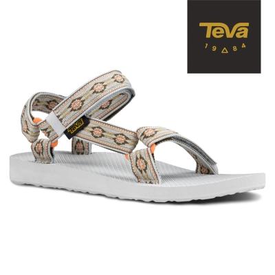 TEVA 美國-女 Original Universal 緹花織帶涼鞋 (棕)