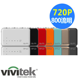 福利品-Vivitek Qumi Q6 LED無線時尚微型投影機(黑)