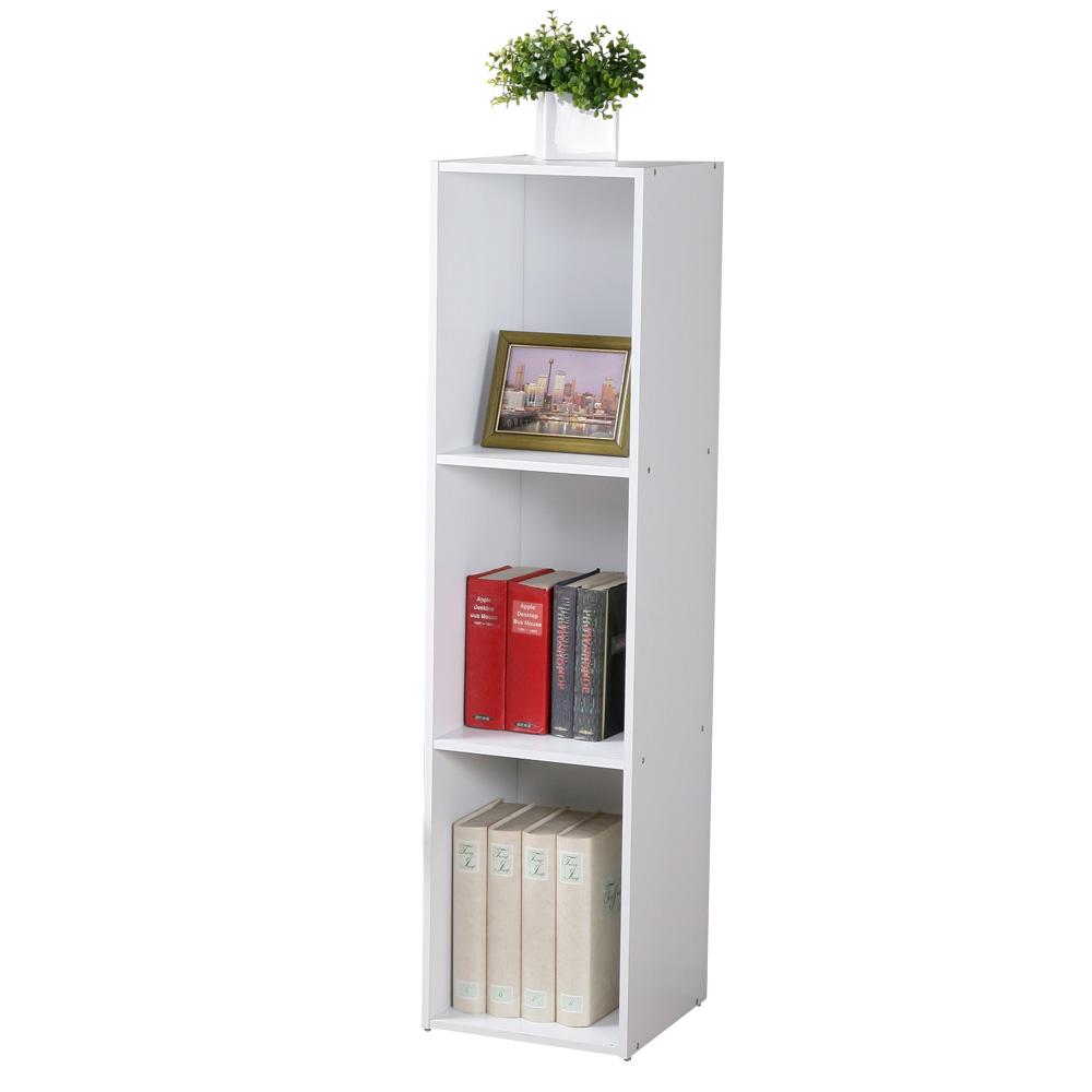 Homelike 現代風三格置物櫃-DIY