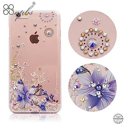 apbs iPhone6s/6 Plus 5.5吋 施華洛世奇彩鑽手機殼-祕密花...