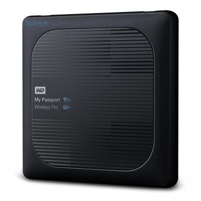 WD My Passport Wireless Pro 4TB 2.5吋 Wi-Fi 行動