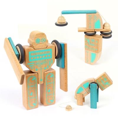 w-o2d Ming Ta 磁力積木機器人系列20pcs