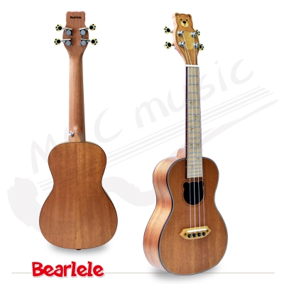 Bearlele 熊麗麗 23吋 超可愛造型 烏克麗麗