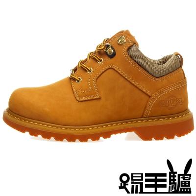 NORTHWEST 防潑水軟木填充美式時尚牛皮登山鞋TM-2515S(金黃)