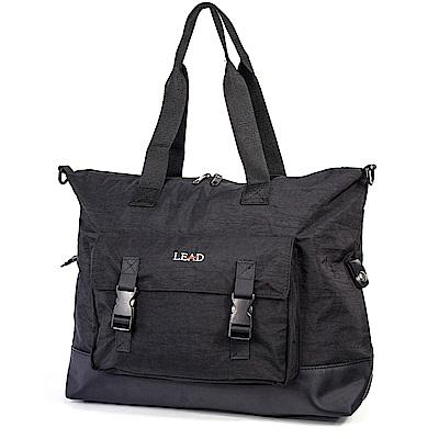 aaronation - LEAD系列肩背手提拉桿行李袋-URA-LD8850-黑