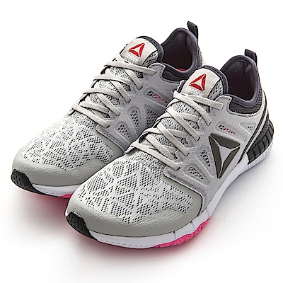 REEBOK-ZPRINT 3D女慢跑鞋AR2926-淺灰