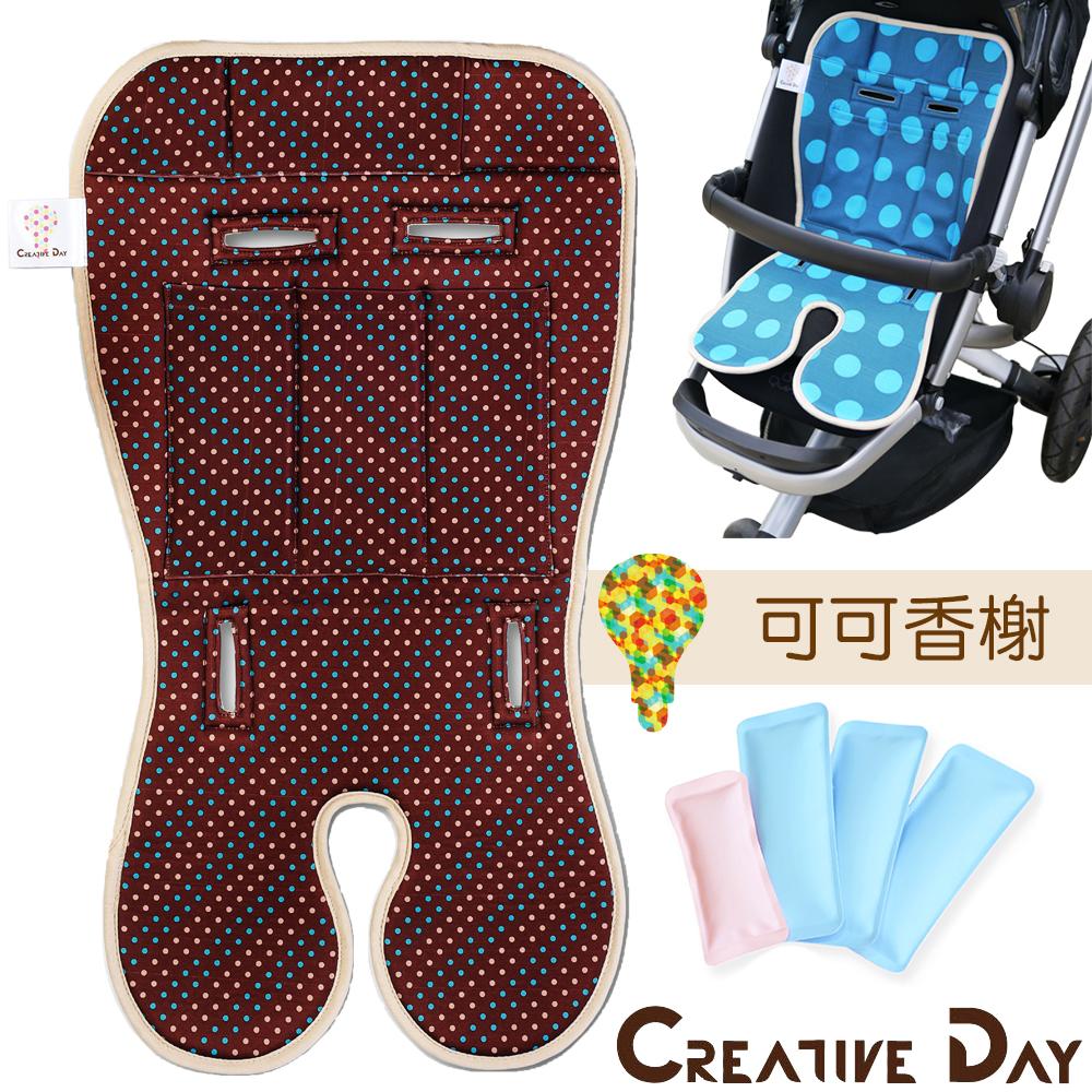 嬰兒專用推車涼墊/汽車安全座椅用涼感墊
