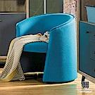 漢妮Hampton馬芬系列藍色休閒椅