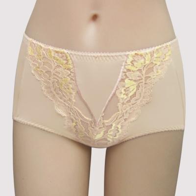 曼黛瑪璉 2014AW挺瘦雙弧  高腰三角修飾內褲(知性膚)