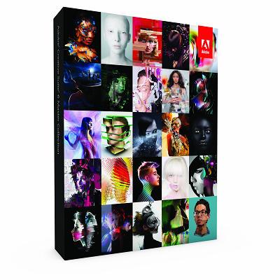 Adobe CS6 Master Collection中英文混合版盒裝Win