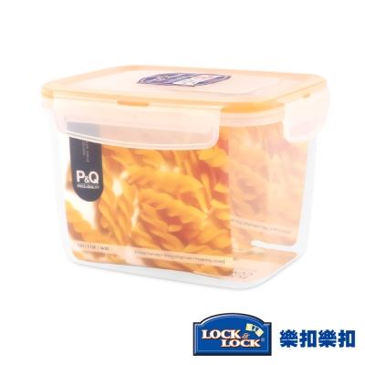 樂扣樂扣P&Q系列色彩繽紛PP保鮮盒-長方形1L(8H)