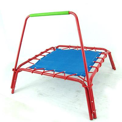 扶手方形彈跳床