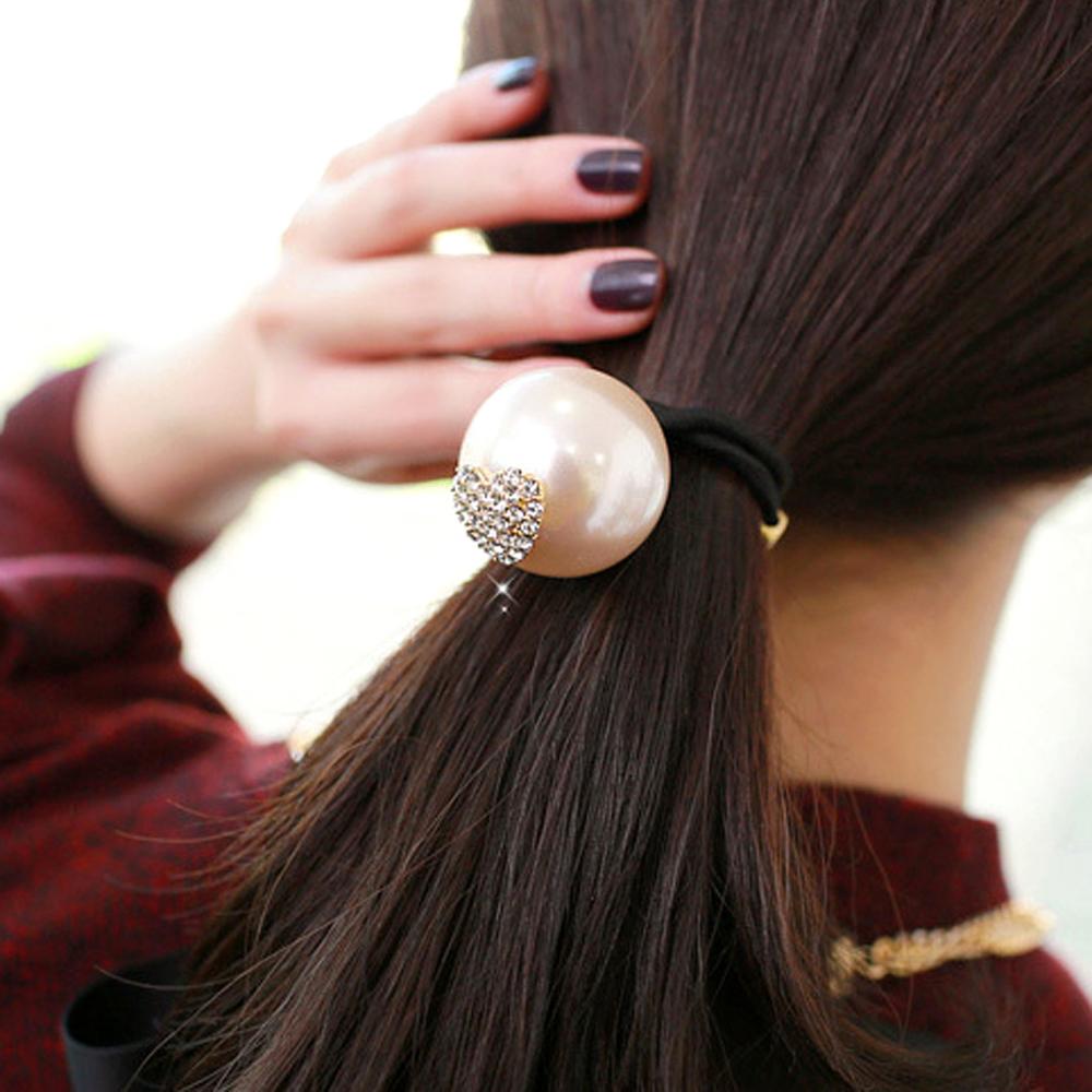 Aimee Toff 大膽珍珠心心愛戀髮束