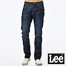 Lee 牛仔褲 中腰舒適小直筒牛仔褲-男款-中深藍