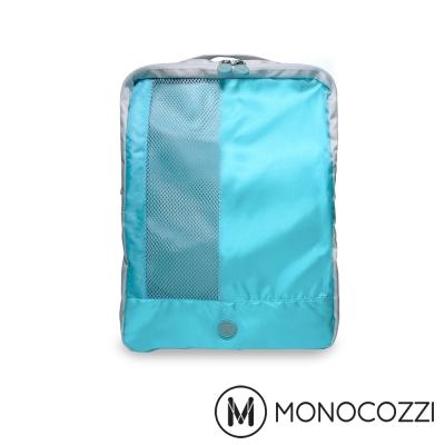 MONOCOZZI Lush 雙層鞋子收納包 Shoes Pack-嬰兒藍