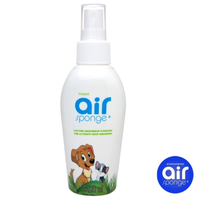 加拿大Air Sponge 除臭抗菌噴劑120ml-寵物家庭/場所適用