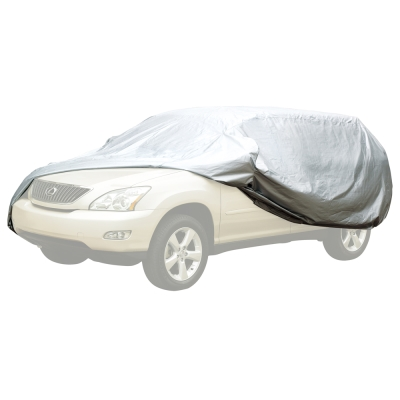3D專利銀光防風車套-【休旅車款】