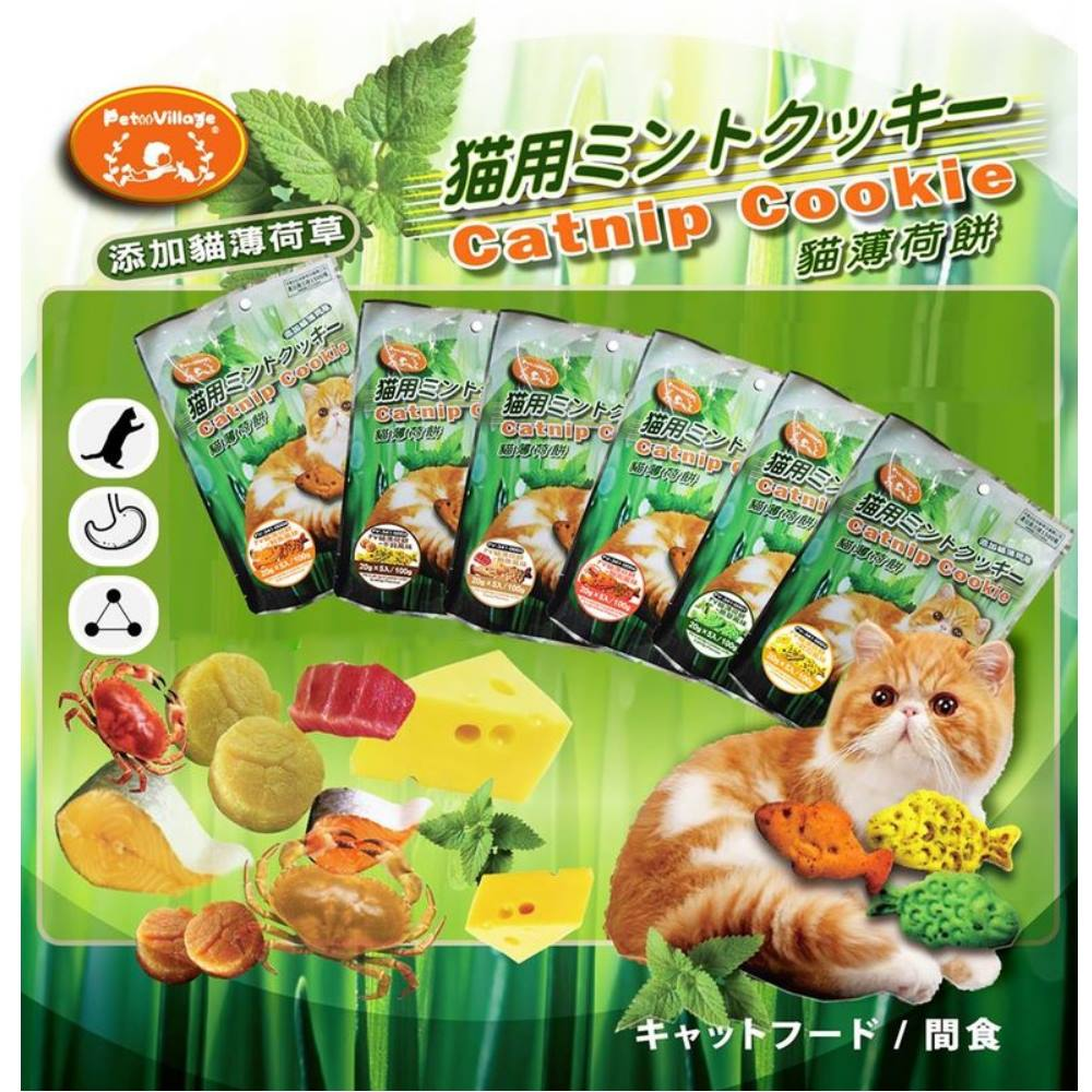 Pet Village 貓薄荷餅 100g