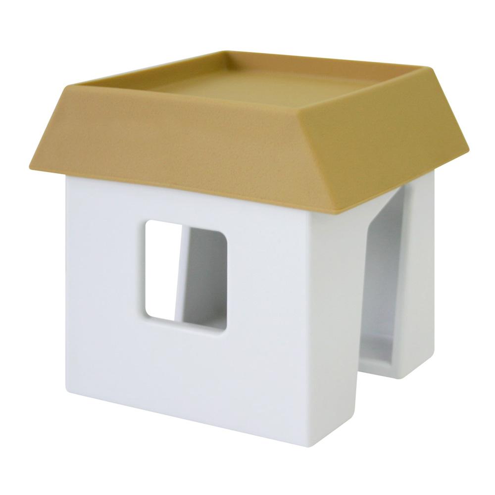 APYUI 房子造型萬用收納架(焦糖色)