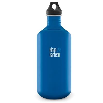 美國Klean Kanteen不鏽鋼瓶1900ml-地球藍