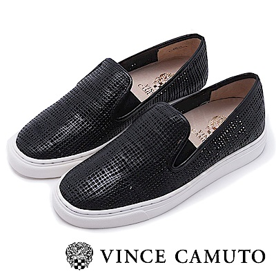 Vince Camuto 潮流休閒百搭平底懶人鞋-黑色