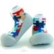 韓國Attipas 快樂學步鞋APZ01【灰底拼圖】 product thumbnail 2