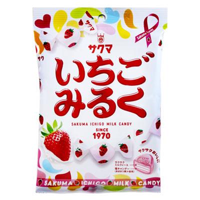 SAKUMA-草莓牛奶糖-100g