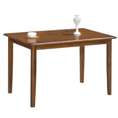 品家居 羅馬4尺餐桌-122x76x76cm-免組