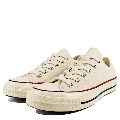 CONVERSE-男女休閒鞋142338C-米白