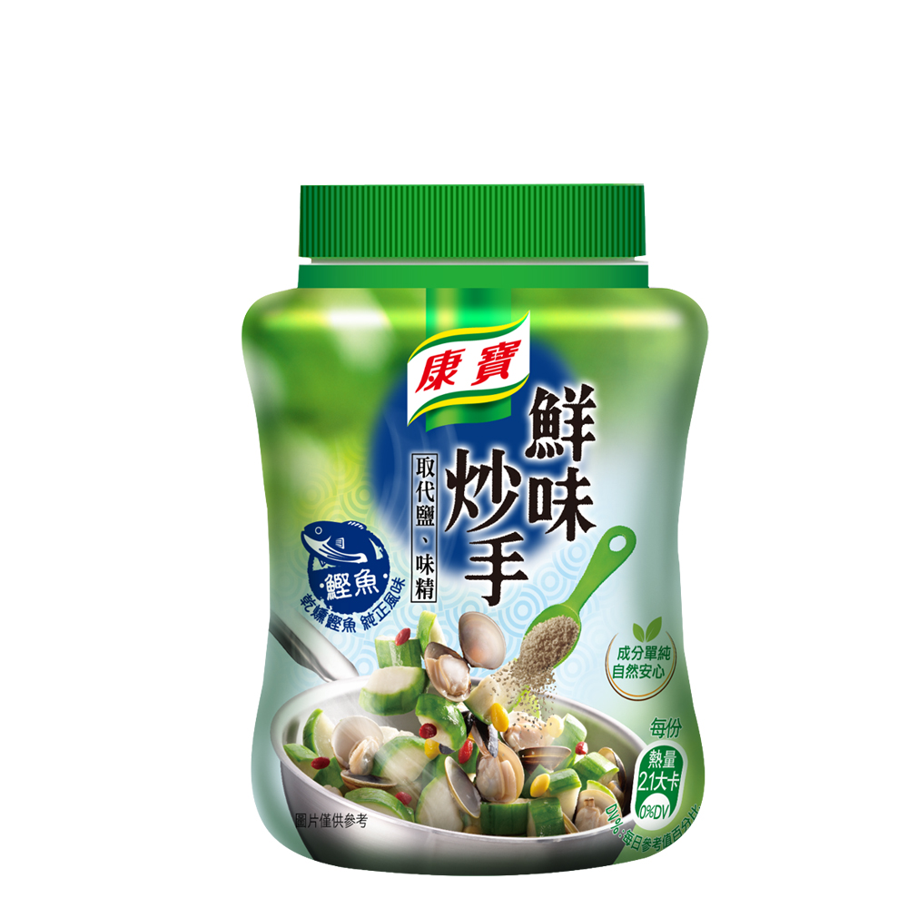 康寶 鮮味炒手鰹魚 240G