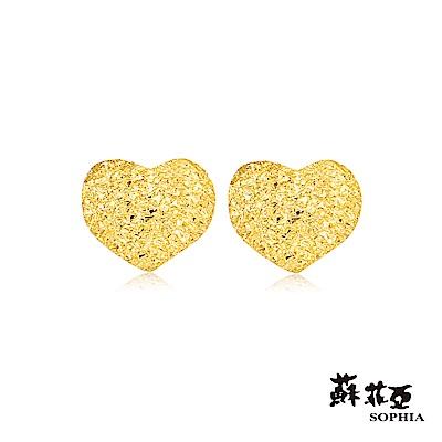 蘇菲亞SOPHIA - G LOVER系列愛戀黃金耳環